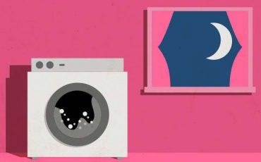Usar la Lavadora en la mañana o en la tarde y debe usarse llena