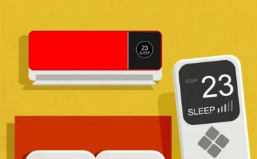 Usa la función SleepMode en tu Aire Acondicionado